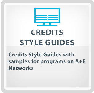 Credits Style Guides